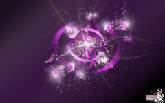Abstract Violet Wallpaper By Szuzi