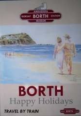 Borth Poster By Boldy
